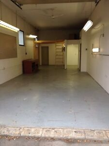 Shop/warehouse space for lease