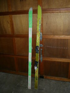 SKIS 175 CM EUPHOM EGS WITH MARKER M27 BINDINGS