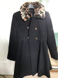 Brand new designer Sisley coat age 10-11