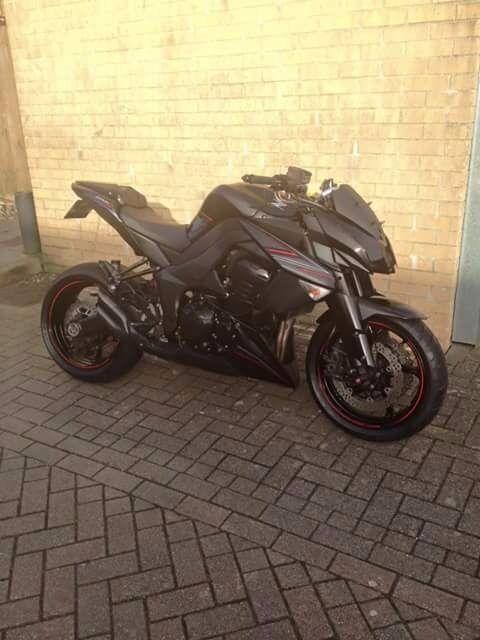 Kawasaki Z1000 2012 Black Edition