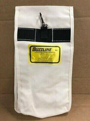W Bashlin Industries Heavy Canvas Electrician Lineman Glove Bag 24lb.