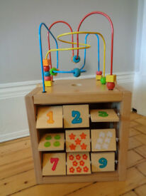 Wooden activity centre 5 in 1 £19
