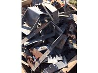 Imperial Joist Hangers and timber dogs Job lot