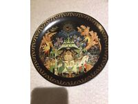 ANTIQUE CHINESE PLATES COLLECTIBLE OVER 25 YEARS OLD 1988