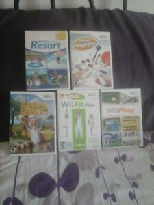 WI games and misc. items