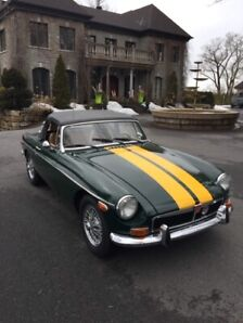 MG (MGB) 1973, mint condition