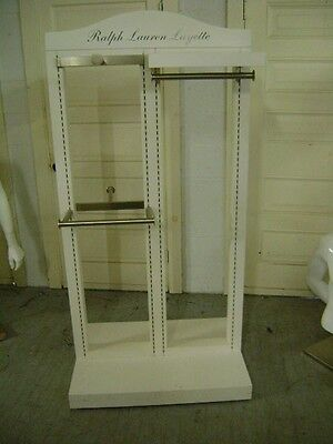 White Retail Ralph Lauren Childrens Kids Baby Clothing Display Rack