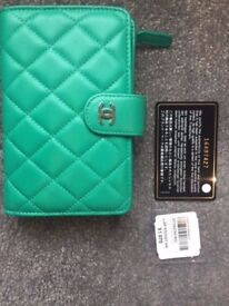 CHANEL L-Zip Pocket Wallet ** AUTHENTIC **