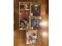 LOT 2 Savage Sword of Conan comics