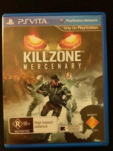 Killzone Mercenary Playstation ps Vita