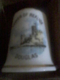 TOWER OF REFUGE (douglas, isle of man) collectable thimble