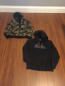 BOYS JACKETS IN IMPECCABLE CONDITION.  AGES 8 TO 10