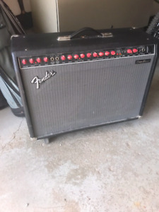 Fender Amp and Guitar