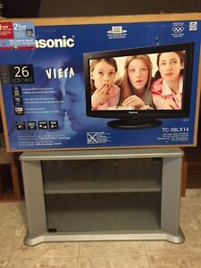 "26"" PANASONIC LCD HD FLAT SCREEN TV & STAND: EXCELLENT!!"
