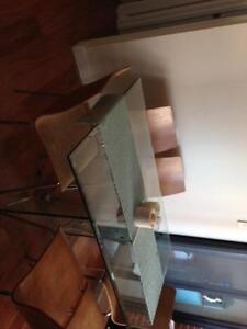 Glass dining table with 6 chairs - free - pick up only Crows Nest North Sydney Area Preview