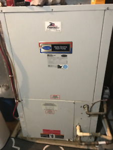 thermopompe a l eau carrier , water heat pump