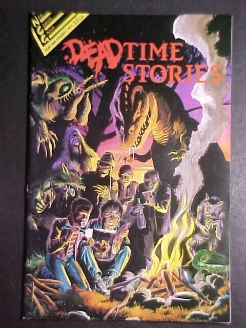 DEADTIME STORIES #1! FN 1987 NEW COMICS GROUP