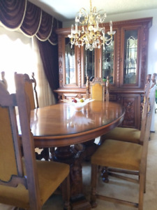 Complete Italian Dining Room Set