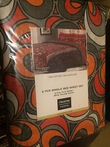 Brand new twin size bed sheet    $ 15