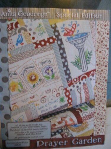 Anita Goodesign Embroidery Design CD Prayer Garden