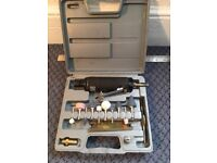 Compressed air grinding tool kit