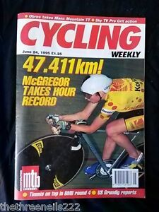 CYCLING-WEEKLY-McGREGOR-TAKES-HOUR-RECORD-JUNE-24-1995