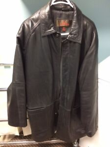 Leather Daniel Jacket XL