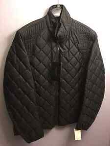 Andrew Marc  Quilted jacket- Size L, Black