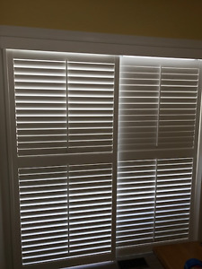 Plantation Patio Door Shutters