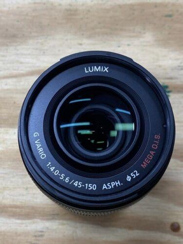 Panasonic Lumix G Vario ASPH Lense M43 45-150 Zoom f/4.0-5.6 GH5