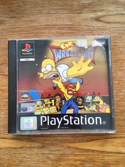 PS1 Games - Syphon Filter & Simpsons Wrestling