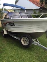 Quintrex 500 freedom Sport bowrider with 90HP Mercury s/s prop Kotara Newcastle Area Preview