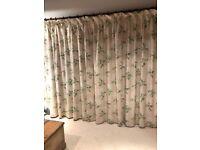 Laura Ashley full-length curtains