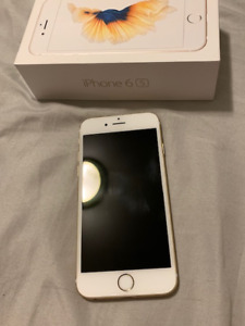 Quick sale IPhone 6s gold 64 GB Good condition and Ipad 2018