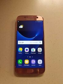 Brand new s7 pink gold
