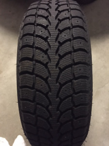Winter Tires 215 60R16 95H -$400.00 like new used for 3 weeks