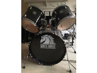 Complete White Horse drum kit