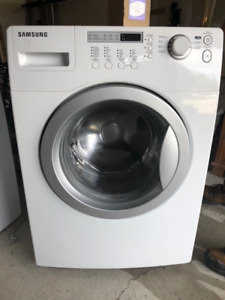 Samsung Front Load Washer and Dryer - Work Great