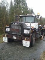 1970 Mack R6 and Float