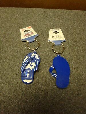 DUKE BLUE DEVILS FLIP FLOP KEYCHAIN Blue Flip Flop Keychain