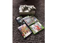 Xbox 360 Two Pads +Games