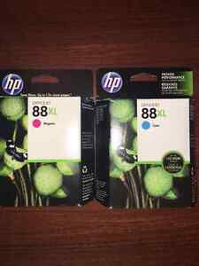 HP 88XL Cartridges used and new Deal $100 for all!! Windsor Region Ontario image 2