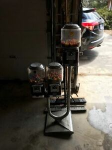 3 Gumball machines in great shape . Good money makers 225.00