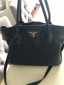 Authentic Large Prada bag