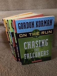 Gordon Korman's series 'On The Run'