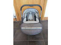 Silver Cross Ventura Plus Car Seat - Group 0+ Birth to 13kgs **Great Condition**
