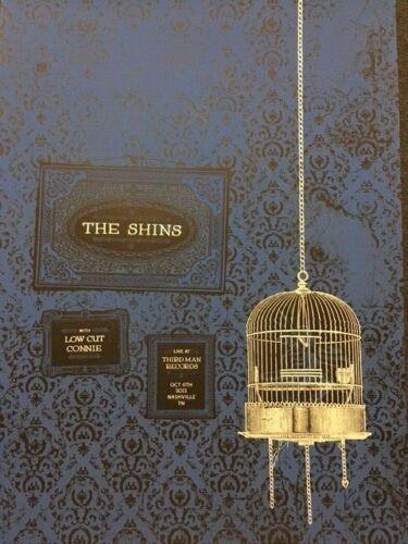The Shins POSTER Live at Third Man Records Nashville 2012 10/6/12 Blue Room RARE