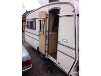 Carlight caravan 2 berth