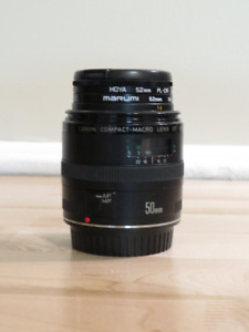Canon Compact-Macro Lens EF   50 mm 1:2.5