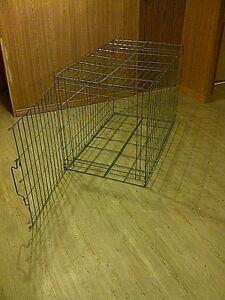 Collapsable steel animal cage for sale. Cambridge Kitchener Area image 2